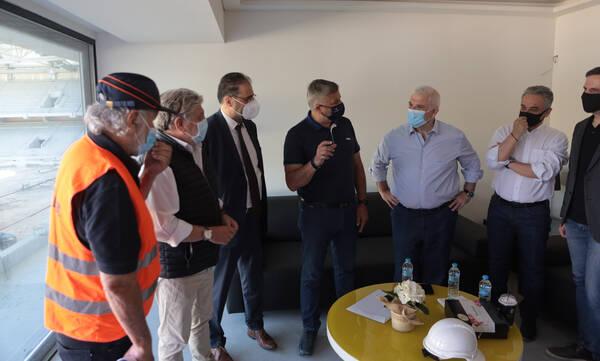 ΑΕΚ: Μπαίνουν οι υπογραφές για την προμήθεια ηλεκτρομηχανολογικού εξοπλισμού για το γήπεδο
