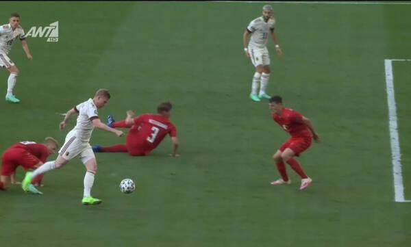 Euro 2020: «Τανκ» Λουκάκου, «μάγος» Ντε Μπρόινε και 1-1 το Δανία-Βέλγιο (video)