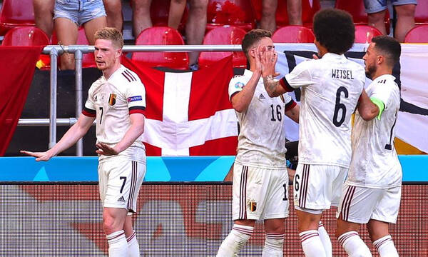Euro 2020: Δανία-Βέλγιο 1-2