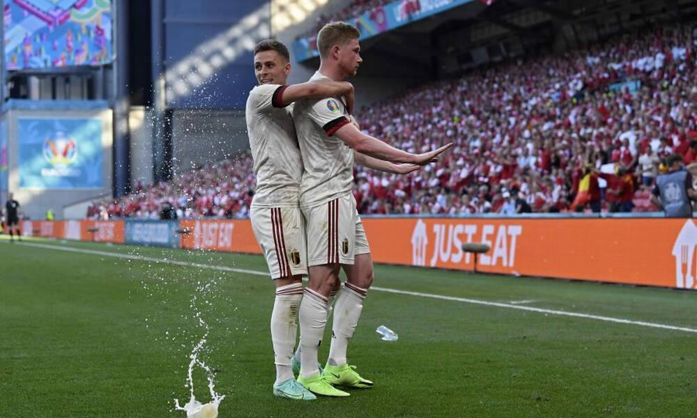 Euro 2020 - Δανία-Βέλγιο: Η ανατροπή που έφερε την πρόκριση στους «16» (video+photos)