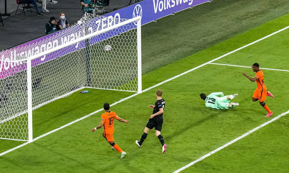 Euro 2020: Έτσι προκρίθηκε στα νοκ άουτ η Ολλανδία (photos+video)