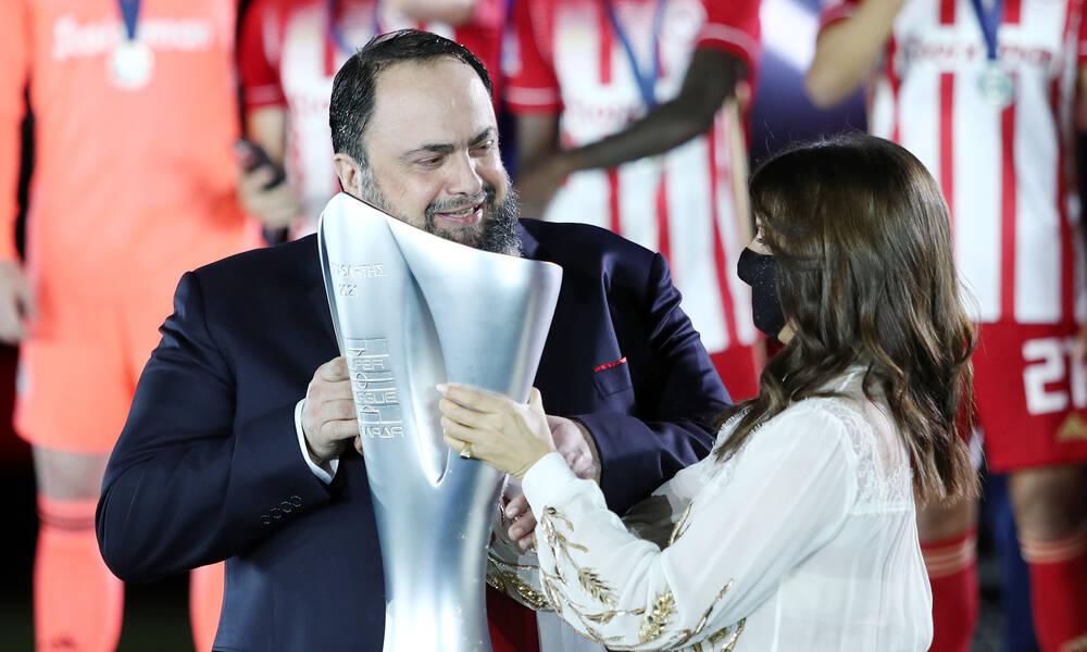 Μαρινάκης: «11 χρόνια επιτυχίες στον Ολυμπιακό»