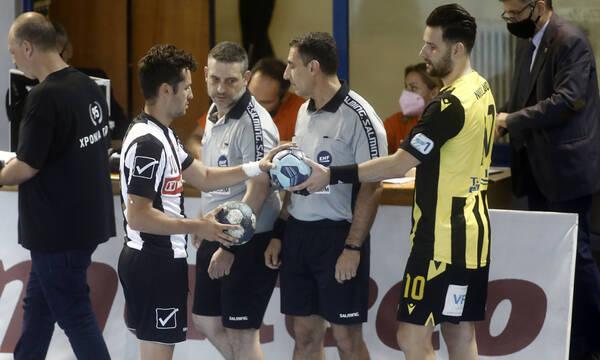 Χάντμπολ: Αναβλήθηκε ο πρώτος τελικός ΑΕΚ-ΠΑΟΚ λόγω κορονοϊού