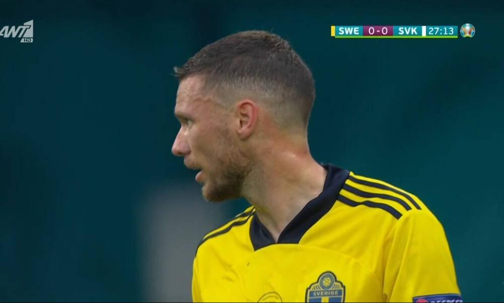Euro 2020 Σουηδία - Σλοβακία: Το ξέσπασμα του Χάμσικ και οι ευκαιρίες του Μπεργκ (videos)