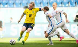 Euro 2020: Σουηδία - Σλοβακία 1-0