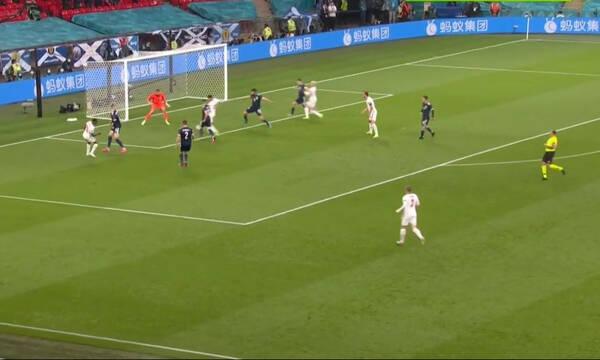 Euro 2020: Αγγλία-Σκωτία 0-0