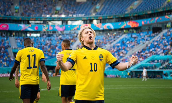 Euro 2020: Η νίκη της Σουηδίας επί της Σλοβακίας (photos+video)