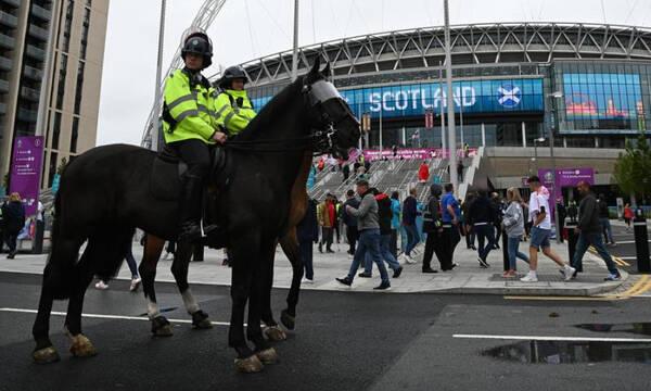Euro 2020: Συλλήψεις μετά το Αγγλία-Σκωτία