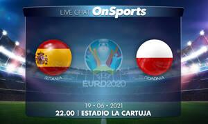 Euro 2020 - Live Chat: Ισπανία-Πολωνία 1-1