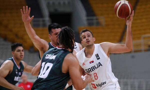 Σερβία-Μεξικό 104-67: Έκανε προπόνηση με Πετρούσεβ