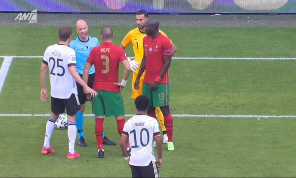 Euro 2020: Γκολάρα ο Γκόσενς στο Πορτογαλία-Γερμανία, αλλά ακυρώθηκε για οφσάιντ (video)