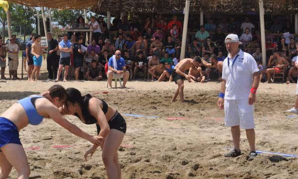 Αρχίζει το Πανελλήνιο πρωτάθλημα Πάλης στην Άμμο