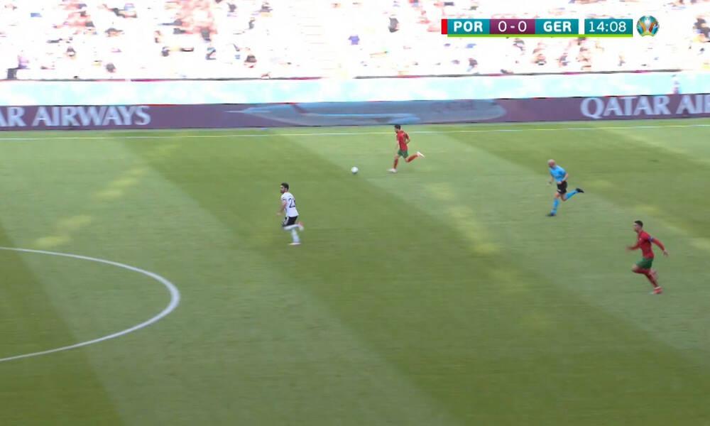 Euro 2020: Έγινε… Μπολτ ο Κριστιάνο Ρονάλντο – Τρομερό σπριντ 13'' στο 1-0! (video)