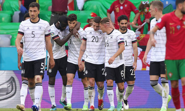 Euro 2020: Πορτογαλία-Γερμανία 2-4