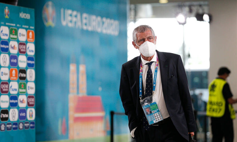 Euro 2020: Ο Σάντος και οι τεσσάρες από τη Γερμανία (photos+videos)