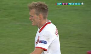 Euro 2020: Δοκάρι ο τρομερός Σφιντέρσκι, έχασε το άχαστο Λεβαντόφσκι για το 1-1!  (video)