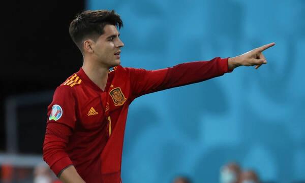 Euro 2020: Ενοχλημένος Μοράτα - Το ξέσπασμα του Ισπανού (photos)