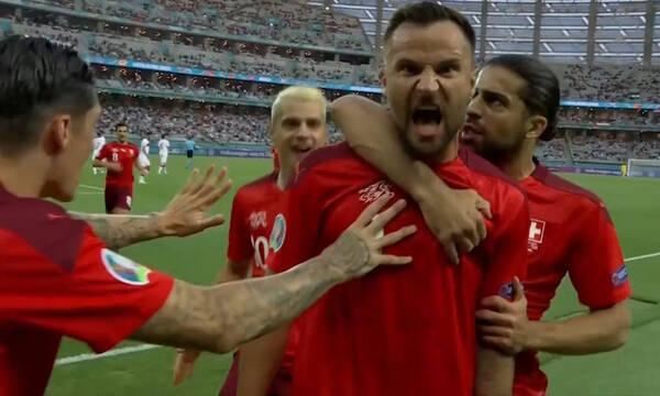 Euro 2020: Ο Σεφέροβιτς με τρομερό σουτ έκανε το 1-0 για την Ελβετία κόντρα στους Τούρκους! (video)