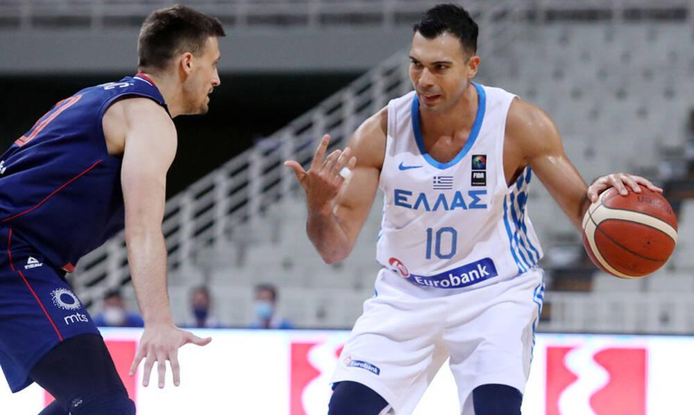 Ελλάδα - Σερβία 64-75: Ήττα και «καμπανάκι» ενόψει Προολυμπιακού