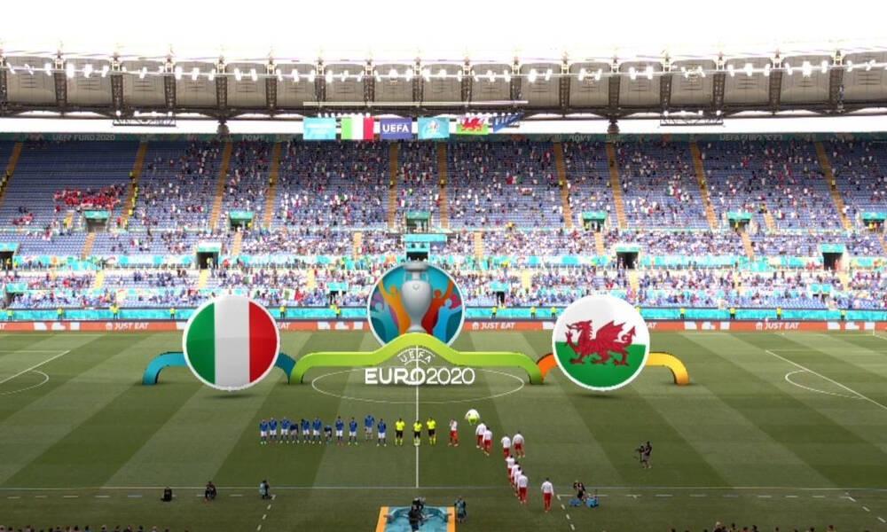 Euro 2020: Ιταλία-Ουαλία 1-0: Έτσι έσπασε το «στοιχειωμένο ρεκόρ» (video)