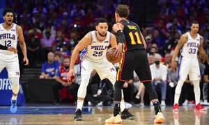 NBA: Απίθανοι Χοκς απέναντι στους Σίξερς (photos+video)
