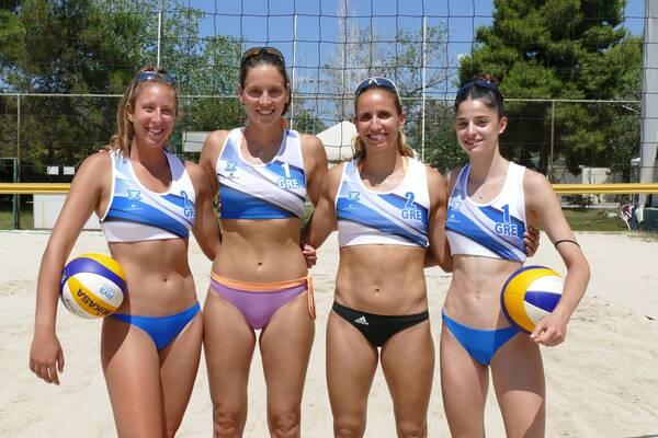 Μπιτς βόλεϊ: Έτοιμες για το προολυμπιακό τουρνουά οι Εθνικές Γυναικών