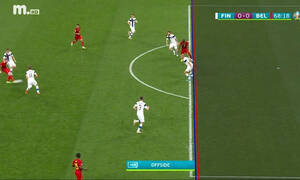 Euro 2020: Γκολ το Βέλγιο και χαμός στην Κοπεγχάγη! (video)