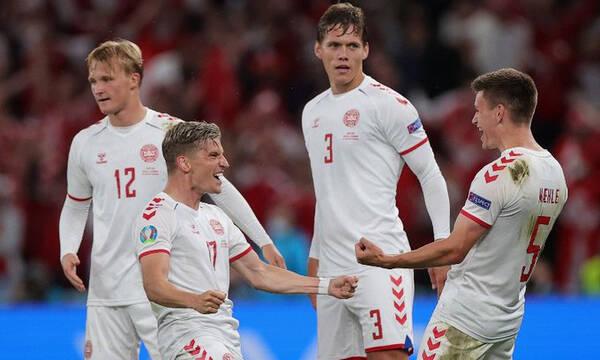 Euro 2020: Η πρόκριση της Δανίας για τον Έρικσεν (video)