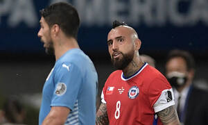 Copa America: Μίλησαν οι «εκτελεστές» - Έμειναν στο 1-1 Ουρουγουάη και Χιλή (videos+photos)