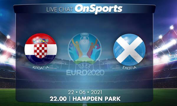 Euro 2020 - Live Chat: Κροατία-Σκωτία 3-1 (τελικό)