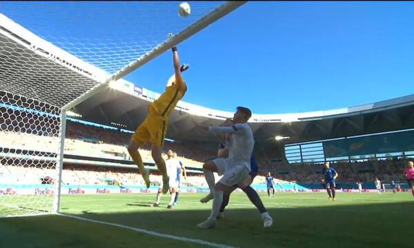 Euro 2020: To αυτογκόλ της χρονιάς - Το έβαλε μόνος του ο Σλοβάκος τερματοφύλακας (video)