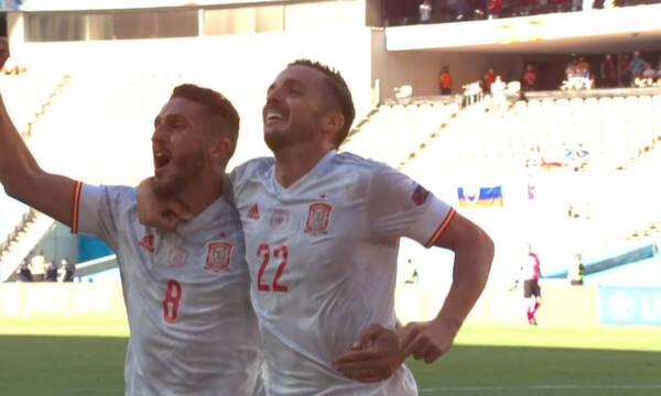 Euro 2020: Καθάρισε την πρόκριση με Σαράμπια η Ισπανία (video)