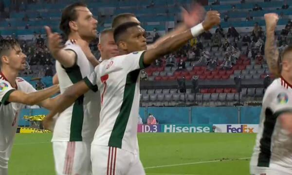 Euro 2020: Απίστευτη κεφαλιά ο Ζάλαϊ και 0-1 η Ουγγαρία (video)