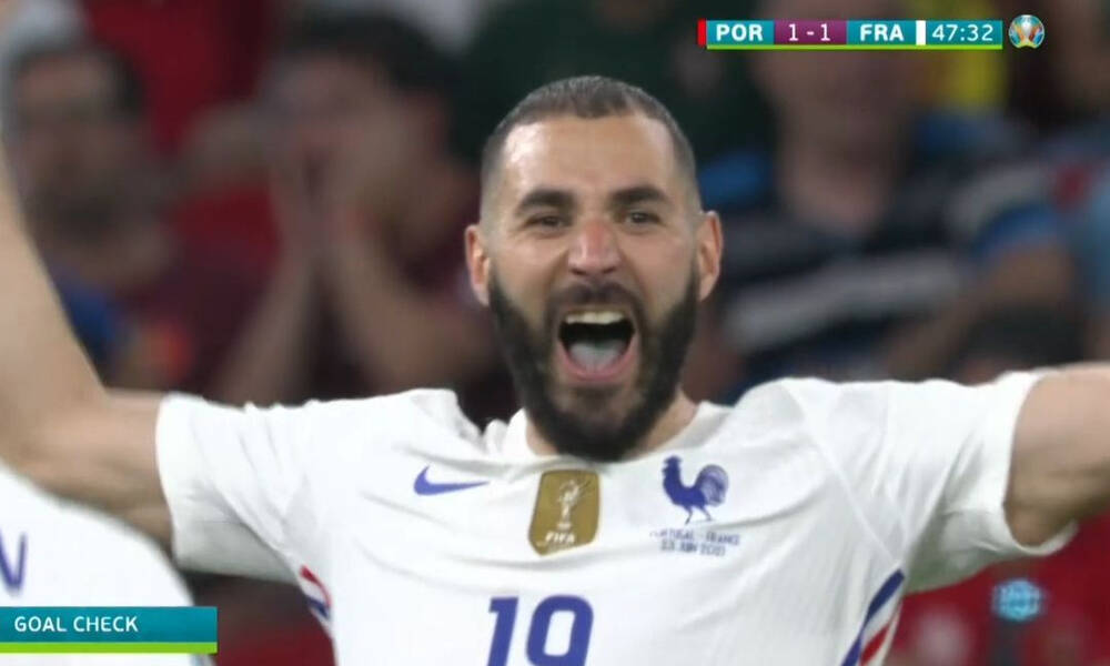 Euro 2020: Το... γύρισε με VAR η Γαλλία - Κι άλλο γκολ ο Μπενζεμά (video)