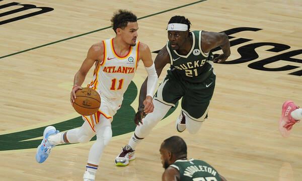 NBA: Η μυθική εμφάνιση του Τρέι Γιανγκ (photos+video)
