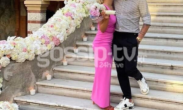 Διεθνής άσος παντρεύτηκε χθες στη Θεσσαλονίκη- Οι πρώτες φωτογραφίες (pics)