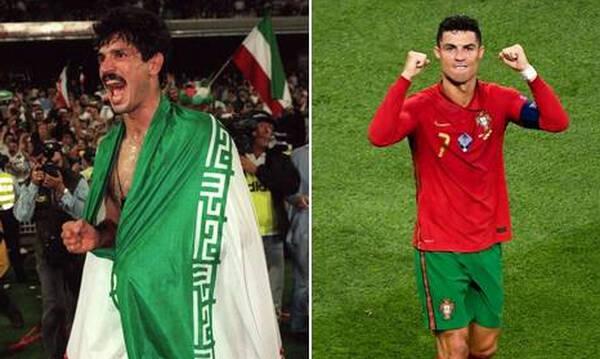 Euro 2020: Τα συγχαρητήρια του Νταεϊ στον Ρονάλντο (video+photos)