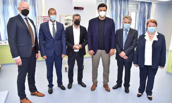Ο ΟΠΑΠ συνεχίζει το μεγάλο έργο ανακαίνισης των παιδιατρικών νοσοκομείων