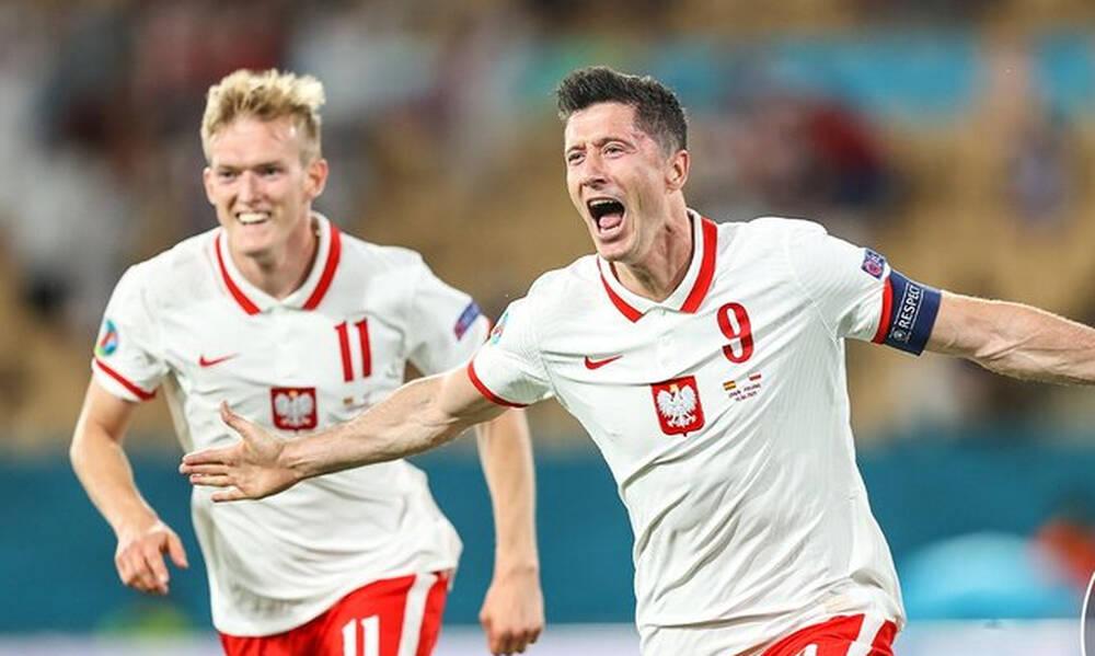 Euro 2020: Ο killer Λεβαντόφσκι – Τα καλύτερα γκολ στον Ε' όμιλο (video)