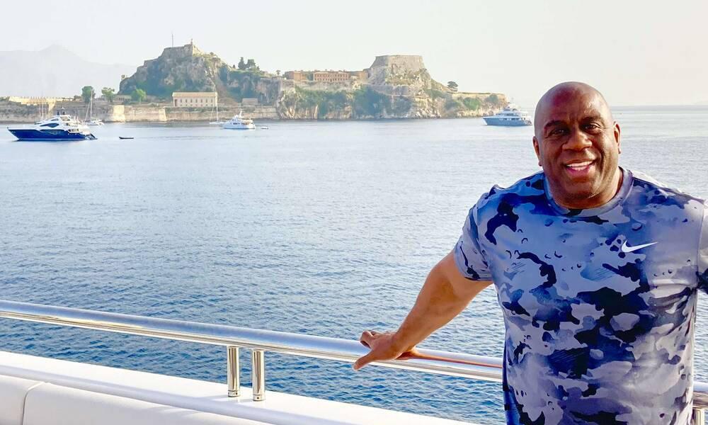 Στην Ελλάδα ο Μάτζικ Τζόνσον! (Photos+Videos)