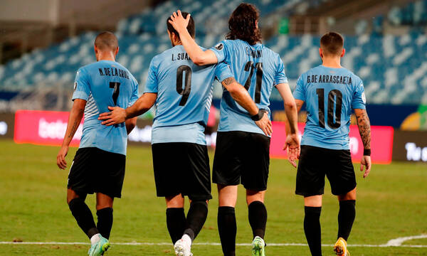 Copa America: Στα προημιτελικά Ουρουγουάη και Παραγουάη (video+photos)