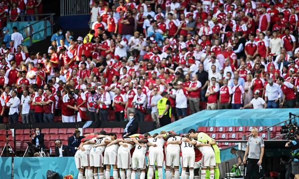 Euro 2020: Αγωνία στην Δανία, 13 κρούσματα κορονοϊού μετάλλαξη «Δέλτα»! (Photos)