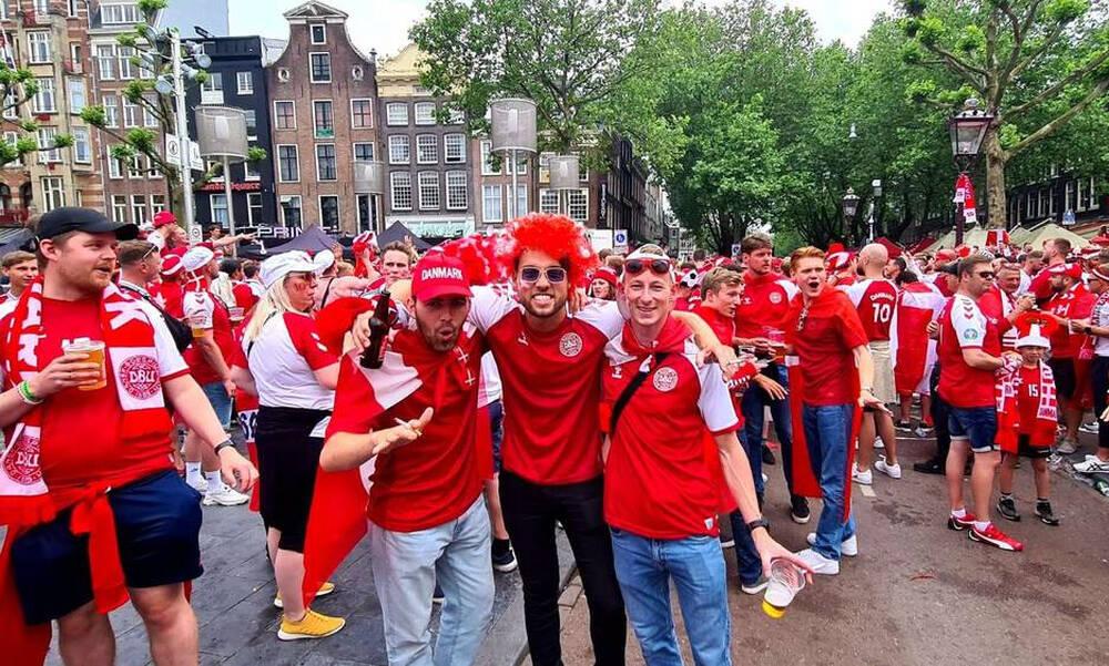 Euro 2020: Κατάληψη στο Άμστερνταμ οι ρόλιγκανς! (Photos+Video)