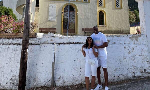 Ο Μάτζικ Τζόνσον… ερωτεύτηκε την Ελλάδα! (Videos+Photos)