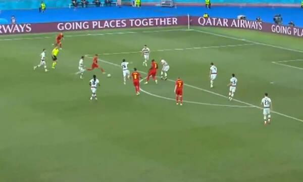 Euro 2020: Κακό τελείωμα ο Αζάρ - Η αντίδραση του Λουκάκου (video)