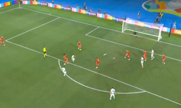 Euro 2020: Το δοκάρι του Γκερέιρο (video)