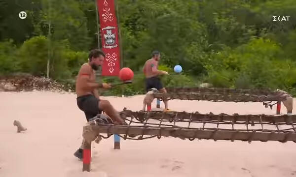 Survivor Spoiler 28/6: Αυτός κερδίζει τον αγώνα κατάταξης (photos+video)