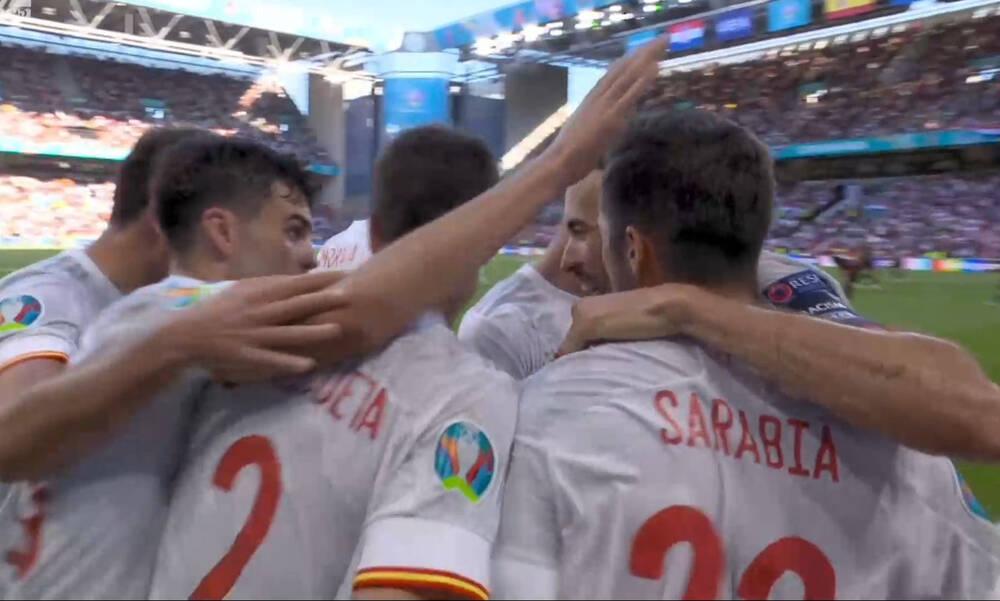 Euro 2020: Ισοφάρισε ο Σαράμπια - Ισπανική αντίδραση μετά το απίστευτο αυτογκόλ