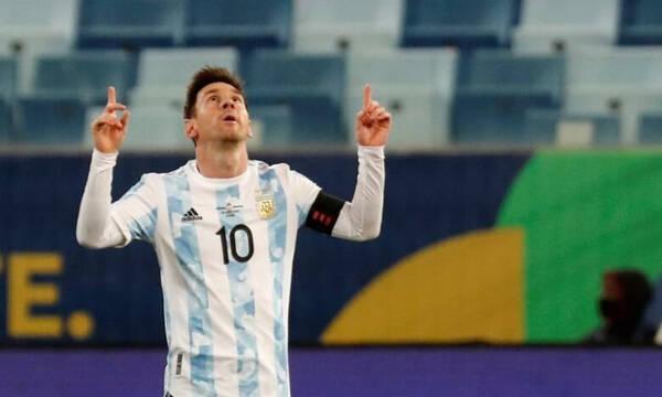 Copa America: Όργια Μέσι και «τεσσάρα» για την Αργεντινή (photos+video)