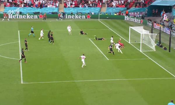 Euro 2020: Το «κάρφωσε» ο Στέρλινγκ - «Φωτιά» στο Γουέμπλεϊ (video)